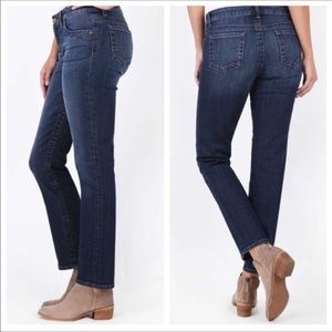 Kut from the Kloth Straight Leg Dark Blue Jeans 8